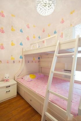 上下铺儿童卧室床装修效果图