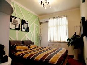 田园风格小卧室装修效果图