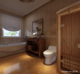 东南亚卫生间装修效果图片