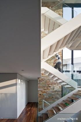 别墅多层楼梯装修效果图-别墅装
