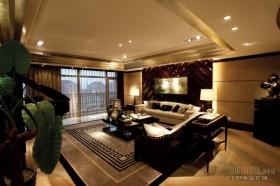 美式大客厅装修效果图