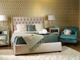 卧室壁纸效果图欣赏