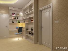 最新现代书房装修效果图大全2013图片