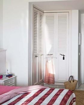 北欧卧室衣柜装修效果图