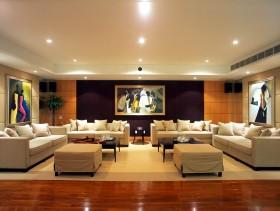 简约家居客厅沙发装修效果图