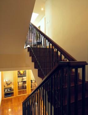复式楼梯装修效果图大全