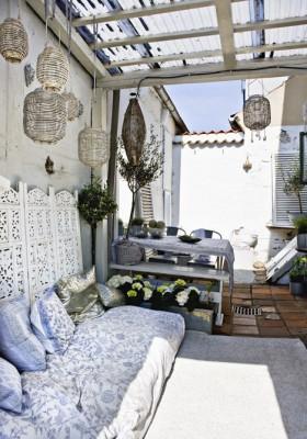 小阳台沙发装修效果图