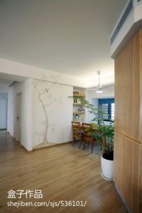 客厅过道木地板装修效果图