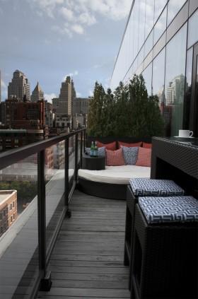 最新小阳台装修效果图欣赏