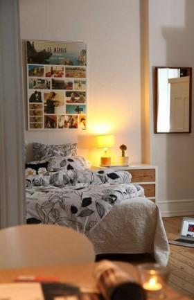 田园10平方米小卧室装修效果图大全