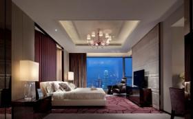 现代风格主卧室吊顶装修效果图大全
