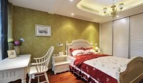 最新田园风格卧室装修效果图大全