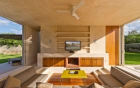 别墅客厅电视背景墙装修效果图大全