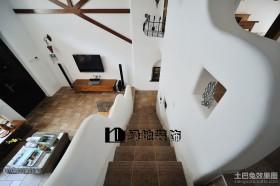 北欧复式楼梯装修效果图大全2013图片