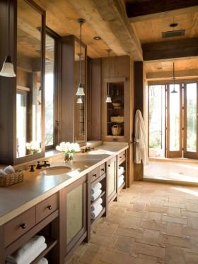 简约风格洗手间装修效果图大全2013图片欣赏