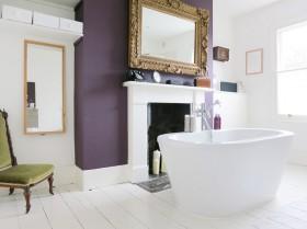 欧式卫生间浴缸装修效果图