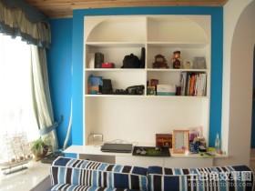 地中海书房装修效果图大全2013图片