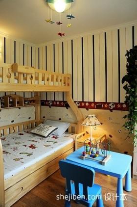 简约儿童房装修效果图大全2013图片欣赏