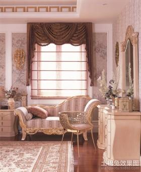 最新卧室窗帘装修效果图大全2013图片欣赏