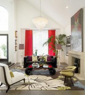 現代風格客廳裝飾效果圖