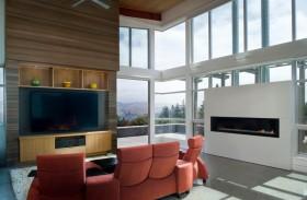 最新简欧客厅背景墙效果图