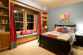 最新卧室飘窗装修效果图