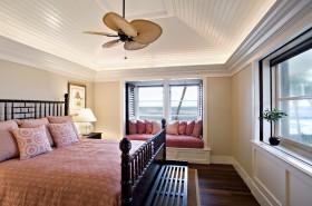 美式卧室飘窗装修效果图大全