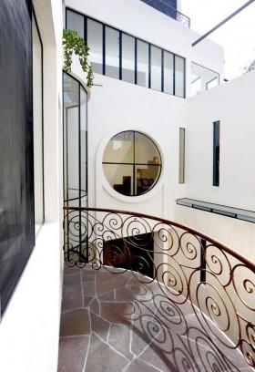 复式小阳台瓷砖装修效果图大全
