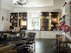 欧式风格书房装修效果图欣赏