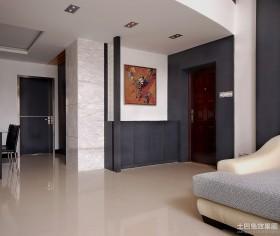现代客厅玄关装修效果图大全