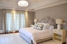 卧室窗帘设计效果图欣赏