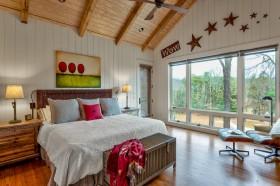 美式乡村别墅卧室设计图