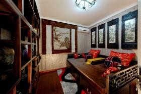 东南亚风格卧室装修效果图欣赏