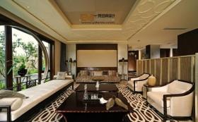 大户型客厅装潢设计效果图