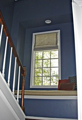 跃层转角飘窗装修效果图欣赏