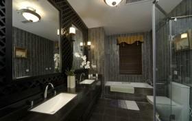 最新中式卫生间装修效果图欣赏