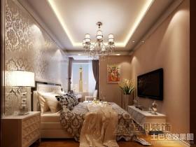 欧式风格卧室吊顶装修效果图