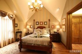 2013美式卧室装修效果图