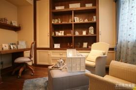 美式书房装修欣赏