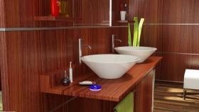 小洗手间洗手台装修效果图