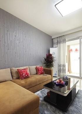 现代50平米小户型新房客厅装修效果图