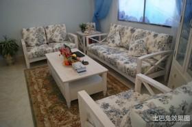 地中海风格小客厅装修效果图