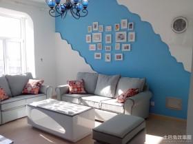 地中海背景墙装修效果图