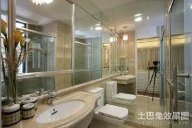 新古典四居室卫生间装修案例