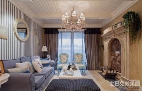 地中海客厅吊顶灯图片