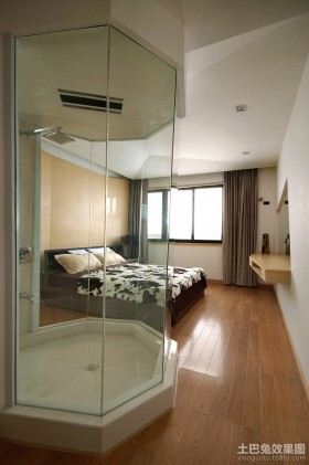 主卧室洗浴间装修案例