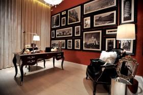 书房照片背景墙装修效果图