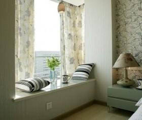 最新简约风格卧室飘窗装修效果图欣赏