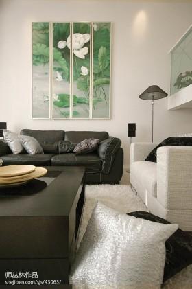 混搭小客厅装修设计效果图