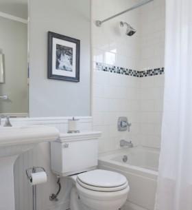 现代简约小卫生间装修效果图欣赏